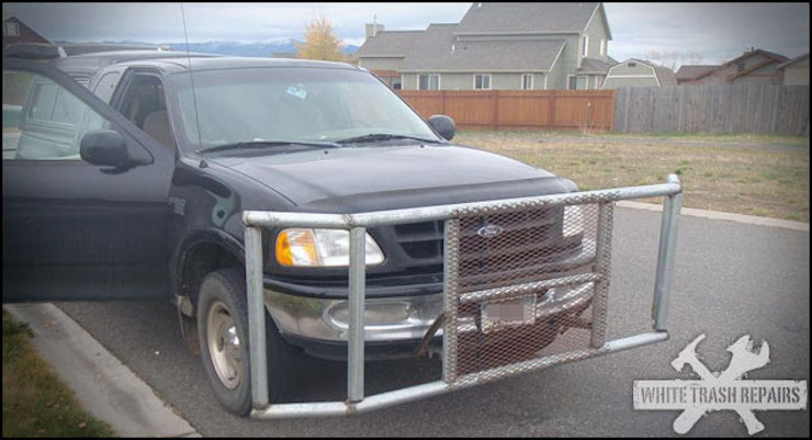 Ford DIY grille