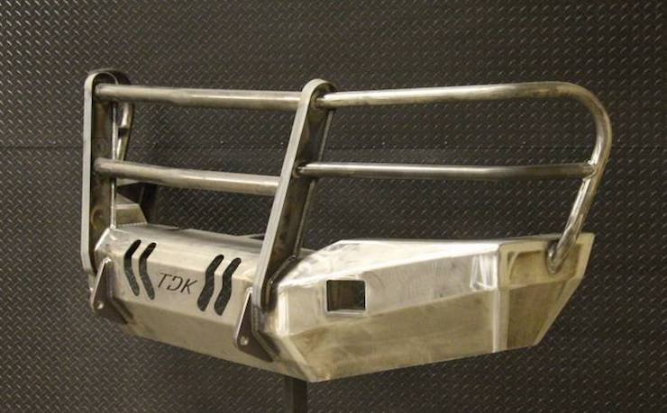 Steel ready to paint bumper