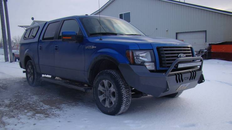 Ford push bar
