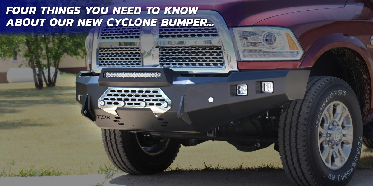 New Cyclone Series Bumpers