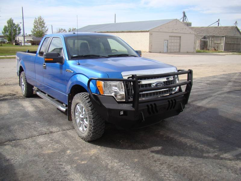 Standard Steel Bumper W Grille Guard For 2009 2014 Ford F150