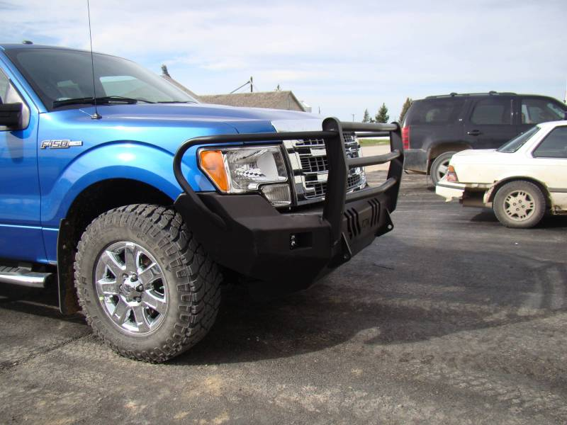 Standard Steel Bumper w/ Grille Guard For 2009-2014 Ford F150