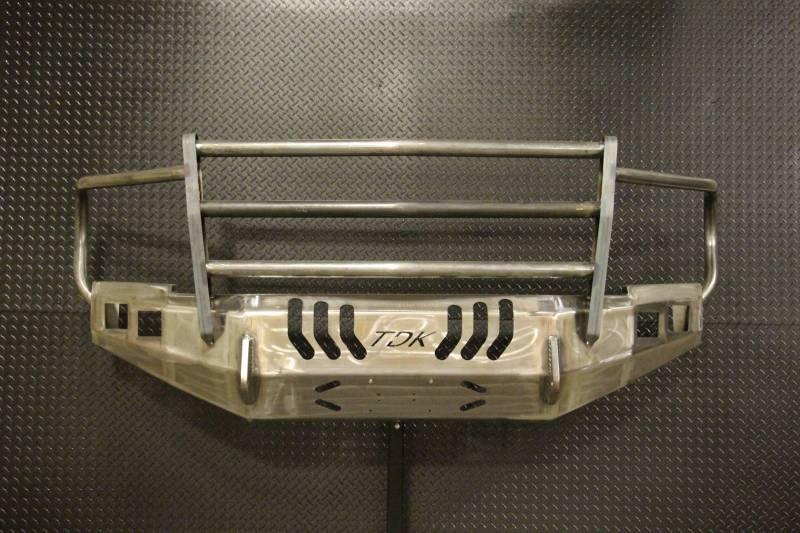 Standard Steel Bumper W Grille Guard For 2010 2019 Ram