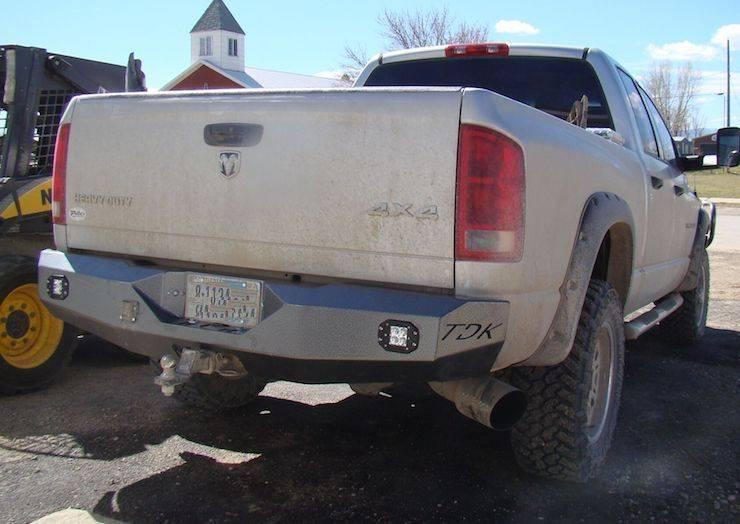 2008 dodge 1500 rear bumper