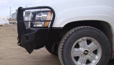 Throttle Down Kustoms - 2007-2013 Chevrolet 1500 Bumper Grille Guard