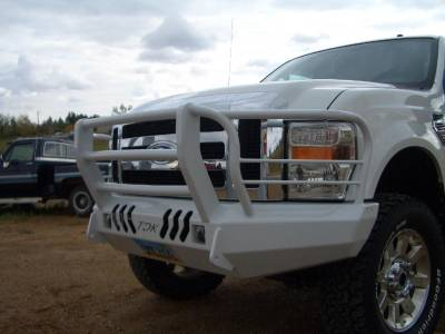 Throttle Down Kustoms - 2008-2010 Ford Super Duty Bumper Grille Guard
