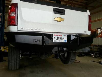 Throttle Down Kustoms - 2007-2013 Chevrolet 1500 Rear Bumper