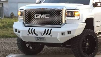 Throttle Down Kustoms - 2015-2019 GMC HD Bumper