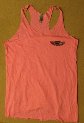 Throttle Down Kustoms - Womens Pink Tank Top