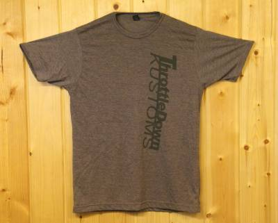 Throttle Down Kustoms - Throttle Down Kustoms T Shirt Brown