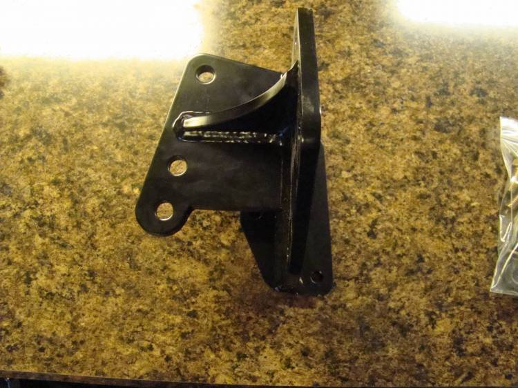 Throttle Down Kustoms - CJ Heavy Duty Steering Box Bracket
