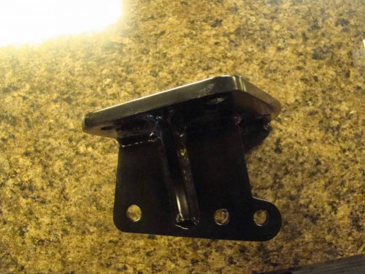 "Throttle Down Kustoms - CJ Heavy Duty Steering Box Bracket 1"" Forward"
