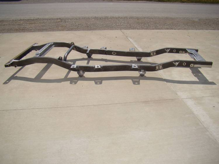 Throttle Down Kustoms - CJ5 Jeep Frame 1976-1983