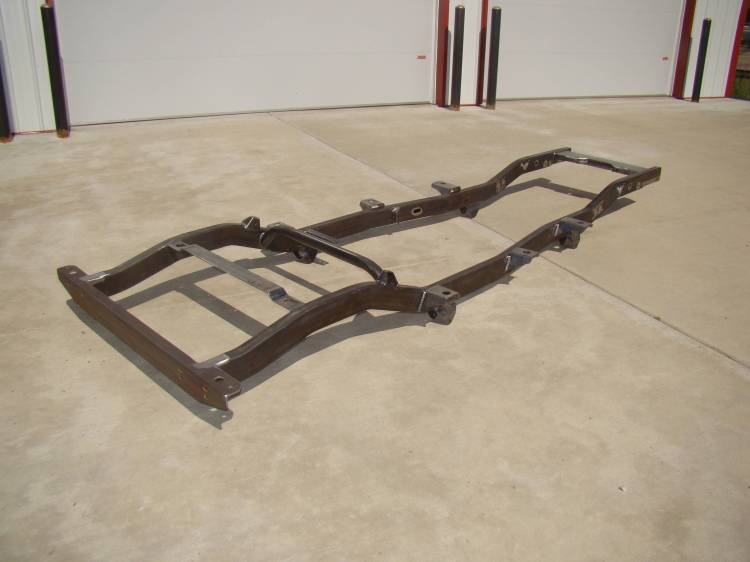Throttle Down Kustoms - CJ7 Jeep Frame