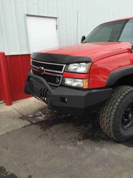 Throttle Down Kustoms - 2003-2006 Chevy Push Bar
