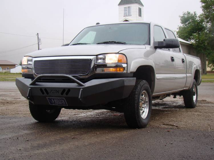 Throttle Down Kustoms - 2003-2006 GMC HD Push Bar