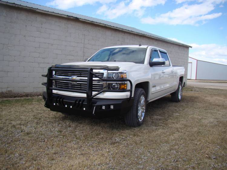 Throttle Down Kustoms - 2014-2015 Chevy 1500 Bumper Grille Guard