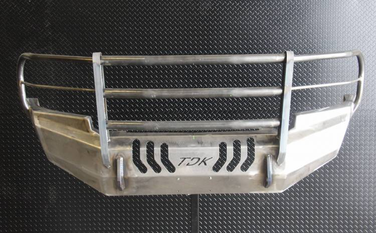 Throttle Down Kustoms - 2007-2013 GMC 1500 Bumper Grille Guard