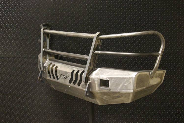 Throttle Down Kustoms - 2003-2006 Chevy HD Bumper Grille Guard