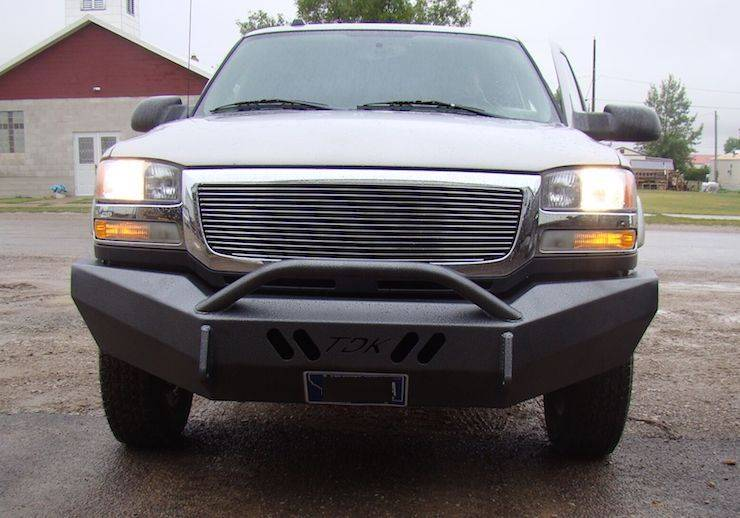 Throttle Down Kustoms - 2007-2013 Chevrolet 1500 Push Bar