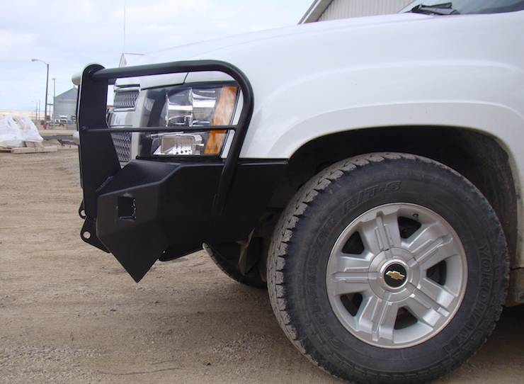 Throttle Down Kustoms - 2007-2013 Chevy 1500 Bumper Grille Guard