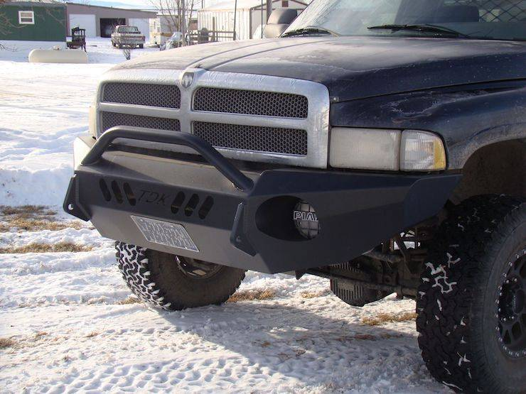 Throttle Down Kustoms - 1994-2002 Dodge HD Push Bar