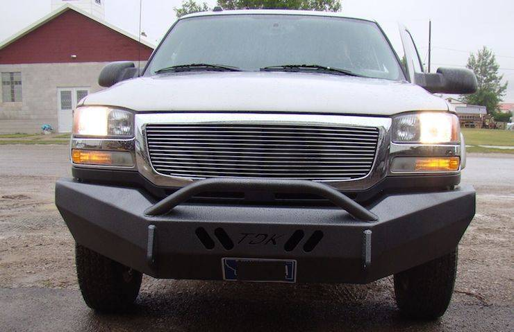 Throttle Down Kustoms - 2007-2013 GMC 1500 Push Bar