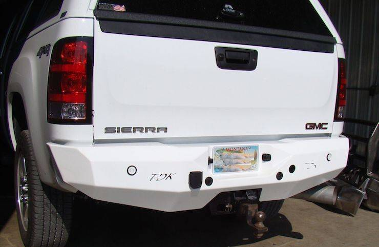 Throttle Down Kustoms - 2007-2013 GMC 1500 Rear Bumper