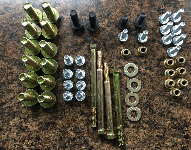 Throttle Down Kustoms - YJ Frame Bolt Kit