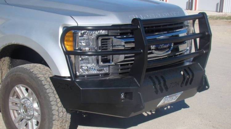 Throttle Down Kustoms - 2017-2019 Ford Super Duty Bumper Grille Guard
