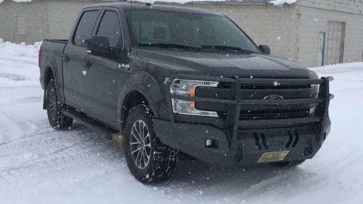 Throttle Down Kustoms - 2018-2019 Ford F150 Bumper Grille Guard