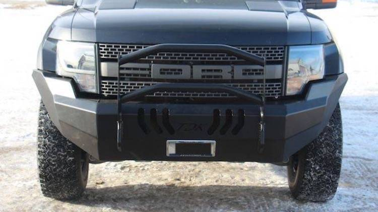 Throttle Down Kustoms - 2009-2014 Ford Raptor Push Bar