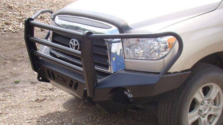 Throttle Down Kustoms - 2007-2013 Toyota Tundra Grille Guard