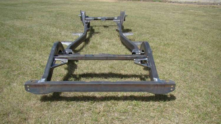 Throttle Down Kustoms - TJ Wrangler Jeep Frame 2003-2006
