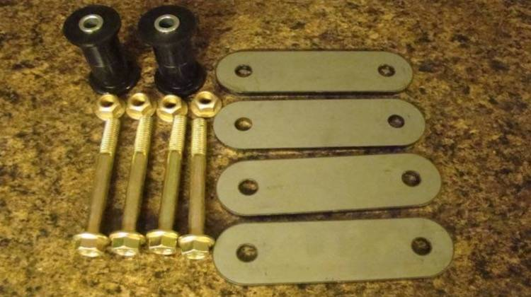 Throttle Down Kustoms - YJ Shackle Bushing, Shackles, and Bolts
