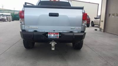 Toyota - Rear Bumper - Throttle Down Kustoms - 2007-2013 Toyota Tundra Rear Bumper