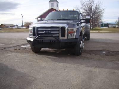 Throttle Down Kustoms - 2008-2010 Ford Super Duty Push Bar - Image 2
