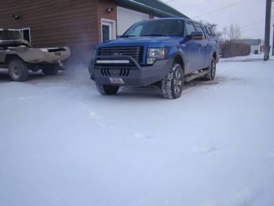 Throttle Down Kustoms - 2009-2014 Ford F150 Push Bar - Image 2