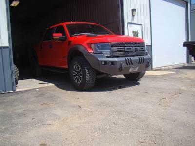 Ford - Bumper - Throttle Down Kustoms - 2009-2014 Ford Raptor Bumper