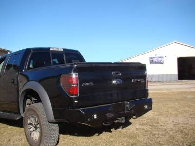 Throttle Down Kustoms - 2009-2014 Ford Raptor Rear Bumper - Image 5