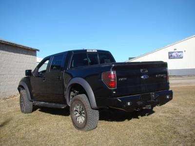 Throttle Down Kustoms - 2009-2014 Ford Raptor Rear Bumper - Image 7