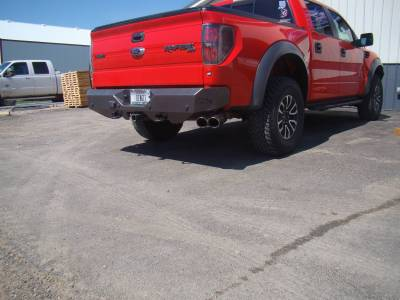 Throttle Down Kustoms - 2009-2014 Ford Raptor Rear Bumper - Image 8
