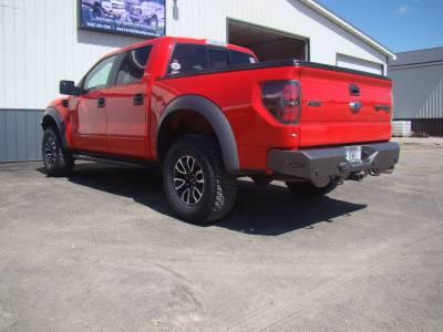 Throttle Down Kustoms - 2009-2014 Ford Raptor Rear Bumper - Image 9