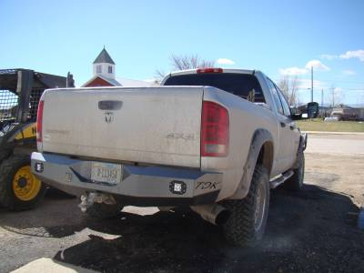 Throttle Down Kustoms - 2006-2009 Dodge Rear Bumper - Image 5