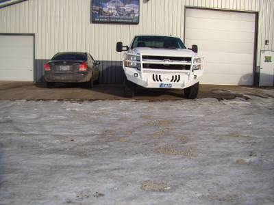 Throttle Down Kustoms - 2011-2014 Chevrolet HD Bumper Grille Guard - Image 2