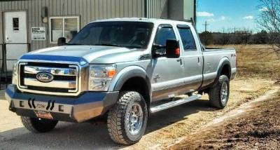 Throttle Down Kustoms - 2011-2016 Ford Super Duty Bumper