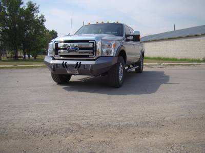 Throttle Down Kustoms - 2011-2016 Ford Super Duty Bumper - Image 6