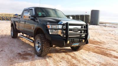 Throttle Down Kustoms - 2011-2016 Ford Super Duty Bumper Grille Guard - Image 4