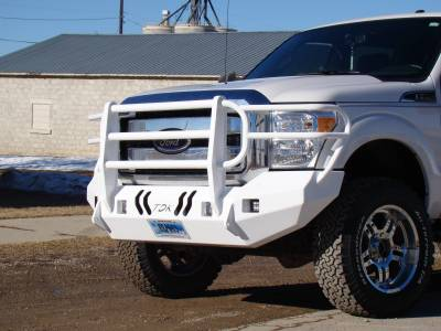 Throttle Down Kustoms - 2011-2016 Ford Super Duty Bumper Grille Guard - Image 9
