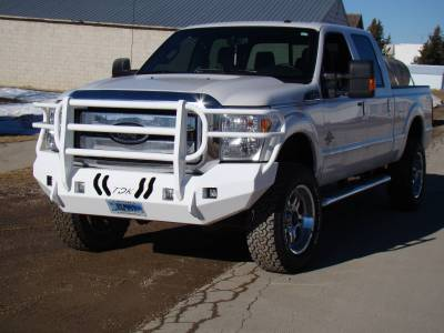 Throttle Down Kustoms - 2011-2016 Ford Super Duty Bumper Grille Guard - Image 13